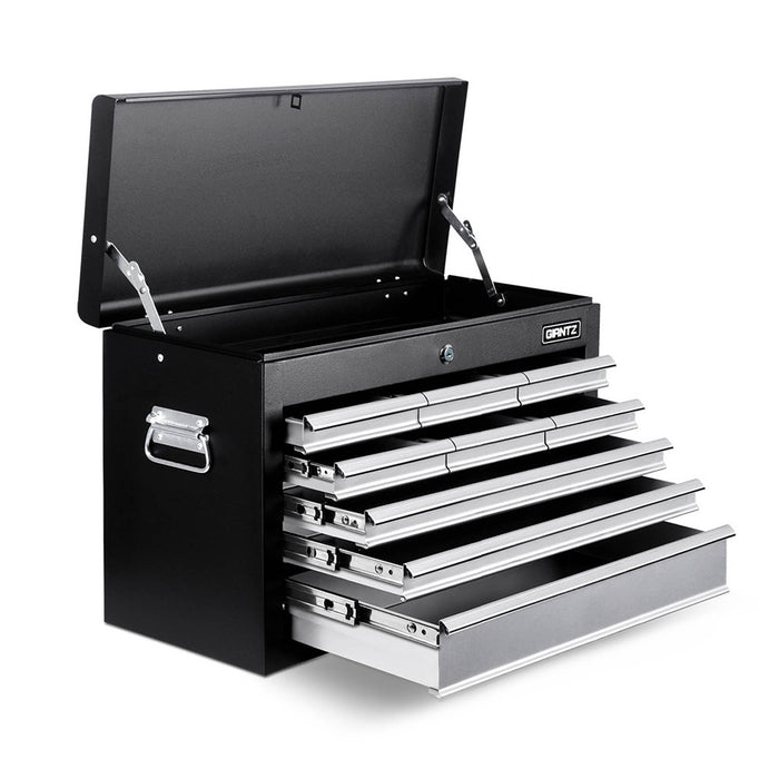 9 Drawers Tool Box Chest Black/Grey