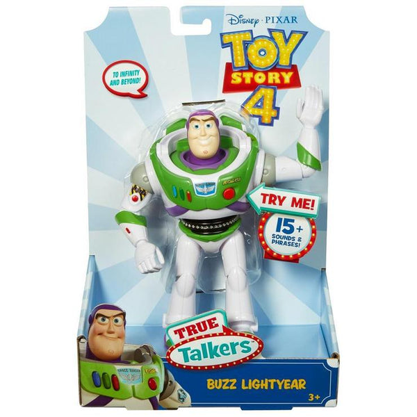 Toy Story 4 True Talkers Buzz Lightyear Figure