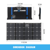 12V-100W-FLEXIBLE-FOLDING-SOLAR-PANEL-KIT-CARAVAN-BOAT-CAMPING-POWER-BATTERY-V13-VASPBAG-1D-afterpay-zippay-oxipay