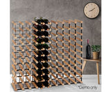 Timber Wine Rack 110 Bottles
