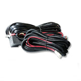 LED LIGHT WIRING LOOM HARNESS RELAY KIT DRIVING LAMP PLUG QUICK FIT HIGH BEAM