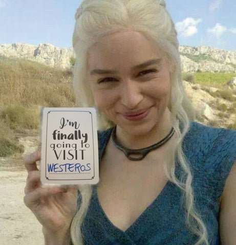 Daenerys Targaryen. Mother of Dragon. Finally going to visit Westeros. Milestones for your 20s