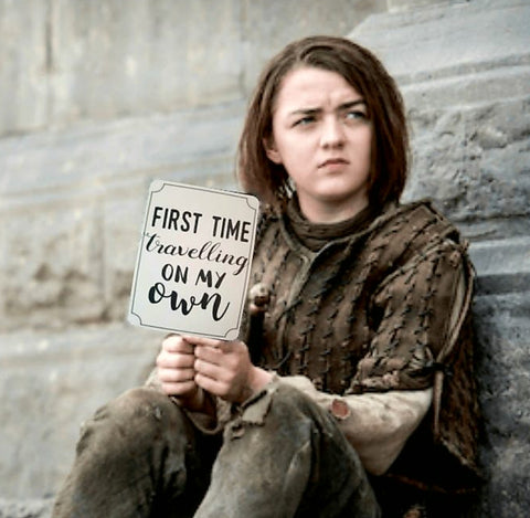 Arya stark. Milestones for your 20s