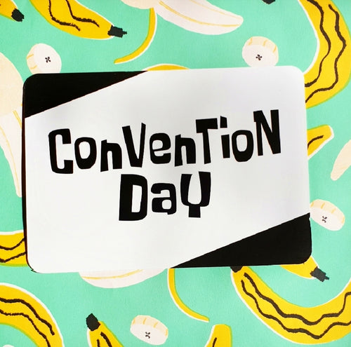 Special Edition Cards: Convention Day