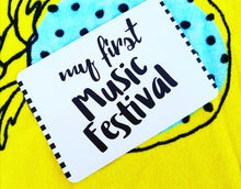 My first music festival. Milestone cards for your 20s. Adulting is hard. Life is a journey... share your ride! Milestone cards for grown-ups.