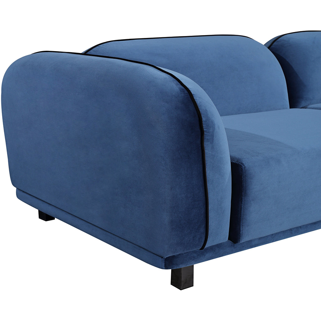 Eclipse Sofa - Baby Blue