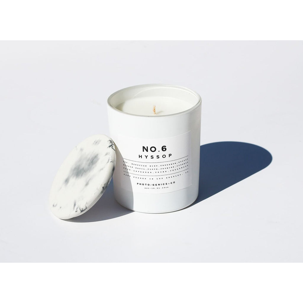 NO.6 HYSSOP GLASS CANDLE