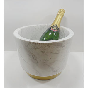 White Marble Champagne Bucket