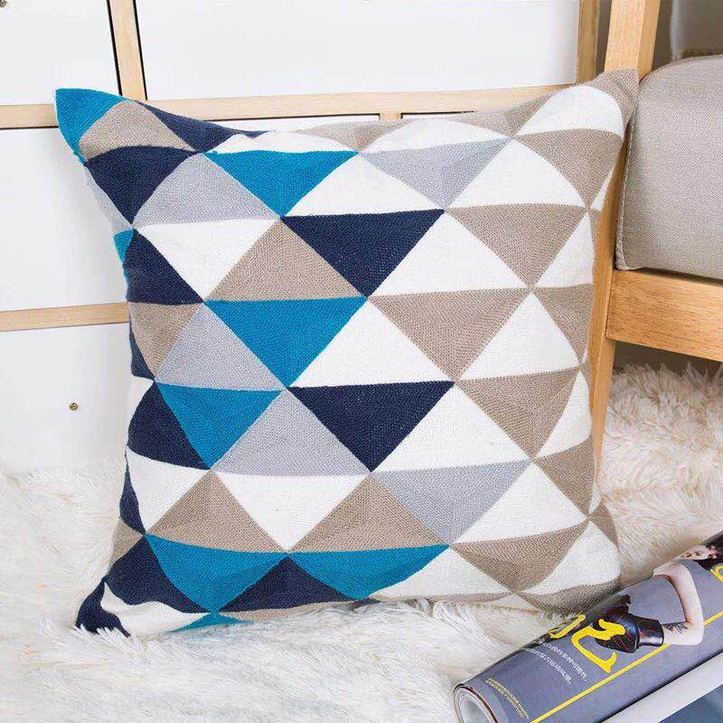 Blue Havana Cushion