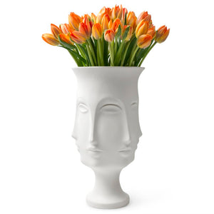 Million Face Vase - Queen Face