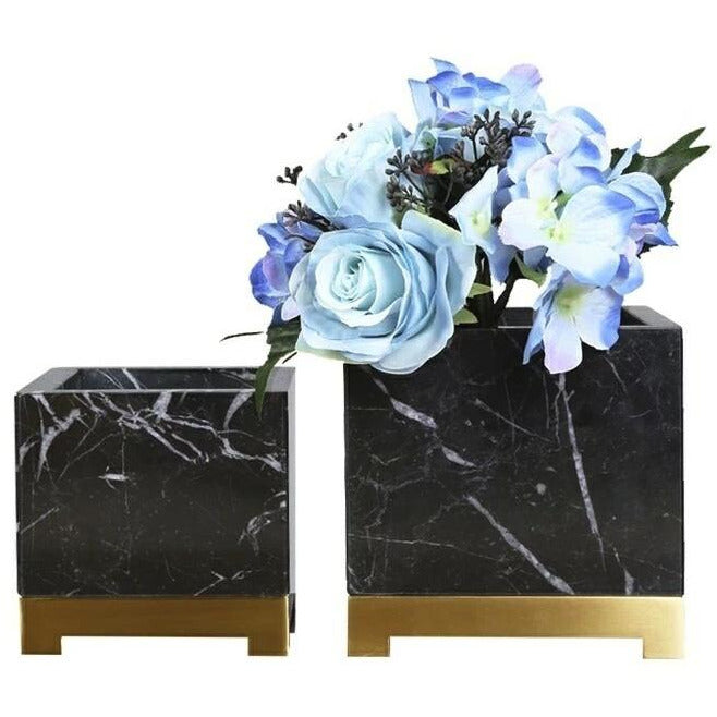 Rufus Marble Planter