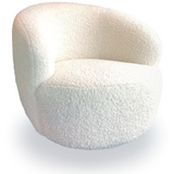 Croissant Swivel Chair