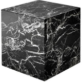 Linx Black Marble Cube