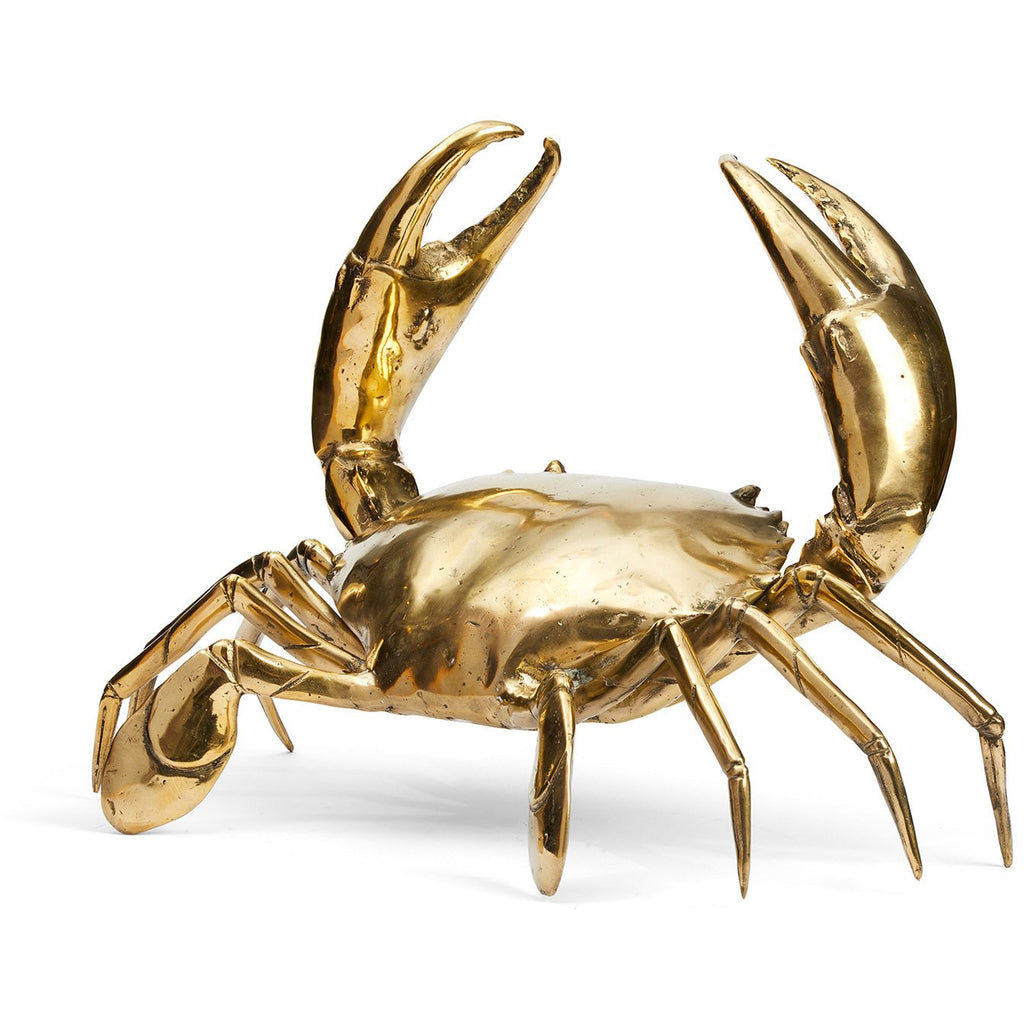 Brass gold Sea Crab