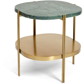 Crag Side Table - Green