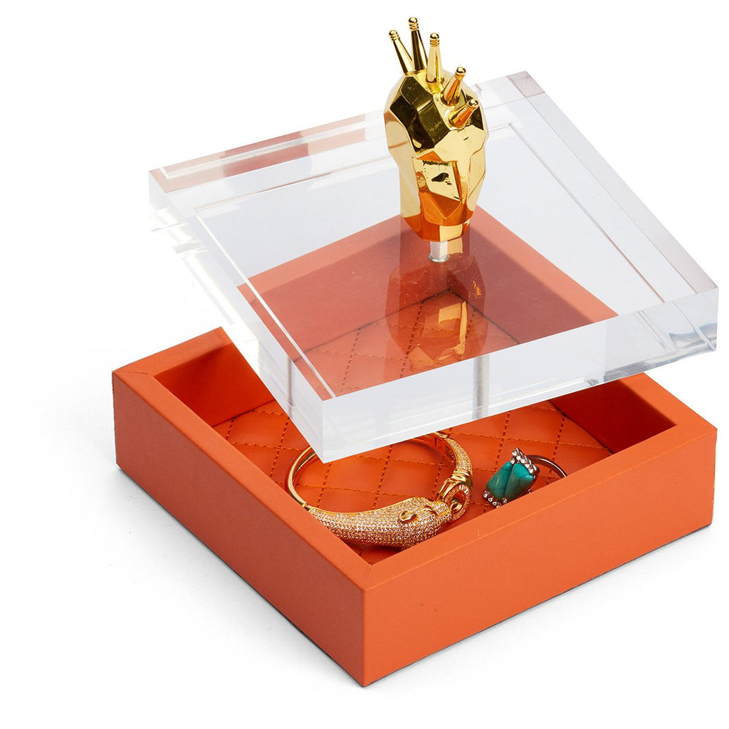 Hermes canister/ Jewellery box