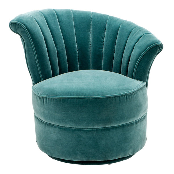 Aero Cameron Deep Turquoise Chair - Right