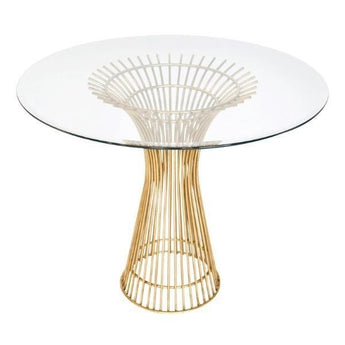 Powell Gold Dining Table