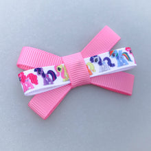 Small Triple Bow Clip - My Little Pony (Pink)