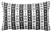 Pillow or Lumbar Bar Pillow Braniff Alexander Girard Design BI Stripe Black White