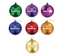 Christmas Ornament Mixed Set of 9 727 and 747 Braniff Place