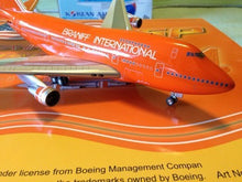 Airplane Model Braniff International Boeing 747SP-27 Orange Ultra 1/200 Scale