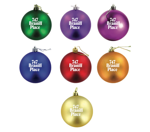 Christmas Ornament Set of 9 747 Braniff Place