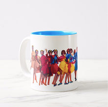 Coffee Mug 11 oz Braniff Air Strip I at 35000 Feet with Blue Interior