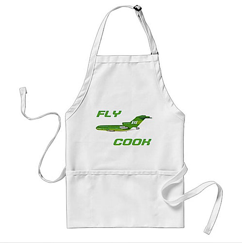 Apron Cooking BBQ and Gardening Braniff Fly Cook