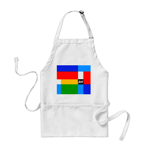 Apron Cooking BBQ and Gardening Braniff Alexander Girard Multi