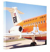 Art Canvas Braniff BAC One-11 Pucci Girls