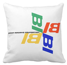 Pillow or Lumbar Bar Pillow Braniff Alexander Girard Design Braniff Airways Foundation Pinwheel