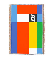 Throw Blanket Braniff Alexander Girard Multi Color