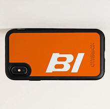 Phone Case Otterbox iPhone and Galaxy Braniff BI Logo with Orange Case