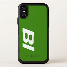 Phone Case Otterbox iPhone and Galaxy BI Logo with Green Case
