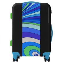 Luggage Ugo Bags Hard Side Spinner Carry On with Braniff Pucci Design