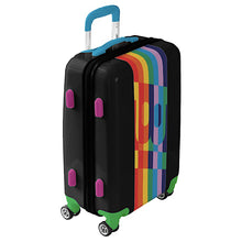 Luggage Ugo Bags Hard Side Spinner Carry On with BI or Braniff Pucci Design