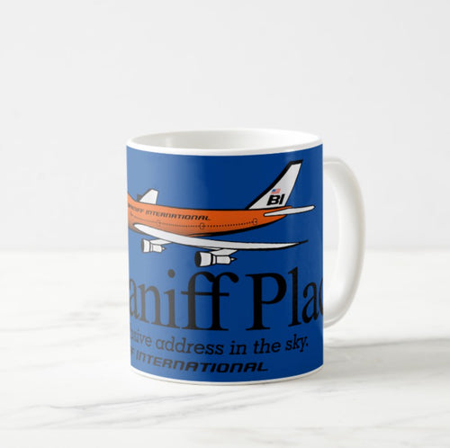 Coffee Mug 11 oz 747 Braniff Place N601BN