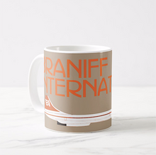 Coffee Mug 11 oz Braniff Concorde Ultra in Orange and Beige