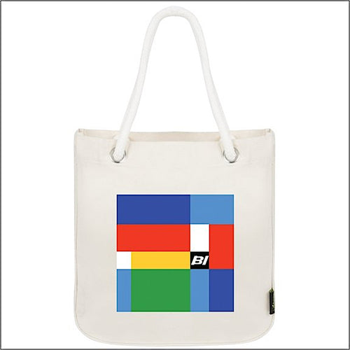 Tote Bag Organic Cotton Rope Braniff Girard Multi