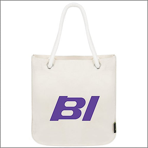 Tote Bag Organic Cotton Rope Braniff Purple BI