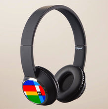 Bluetooth Wireless Headphone Headset Braniff Alexander Girard Multi Design