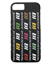 Phone Case iPhone and Galaxy Barely There Braniff Alexander Girard Design BI Logo Multi Color