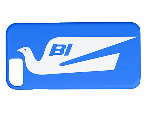 Phone Case iPhone and Galaxy Barely There Braniff Alexander Girard Design Bluebird White Blue