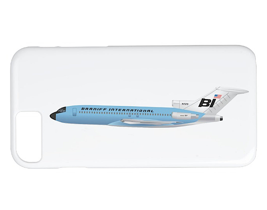 Phone Case iPhone and Galaxy Barely There Braniff 727 Light Sky Blue