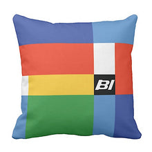 Pillow or Lumbar Pillow Braniff Alexander Girard Design Multi