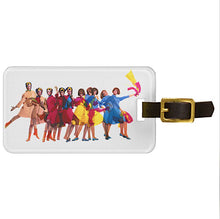 Luggage Tag Personalized Braniff Pucci Design Air Strip I