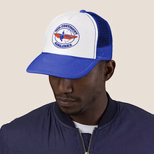 Baseball Net Back Cap Mesh Multiple Colors with Braniff Logos