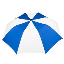 "Umbrella 42"" Multi Color Auto Braniff Bluebird BI Logo Blue White"