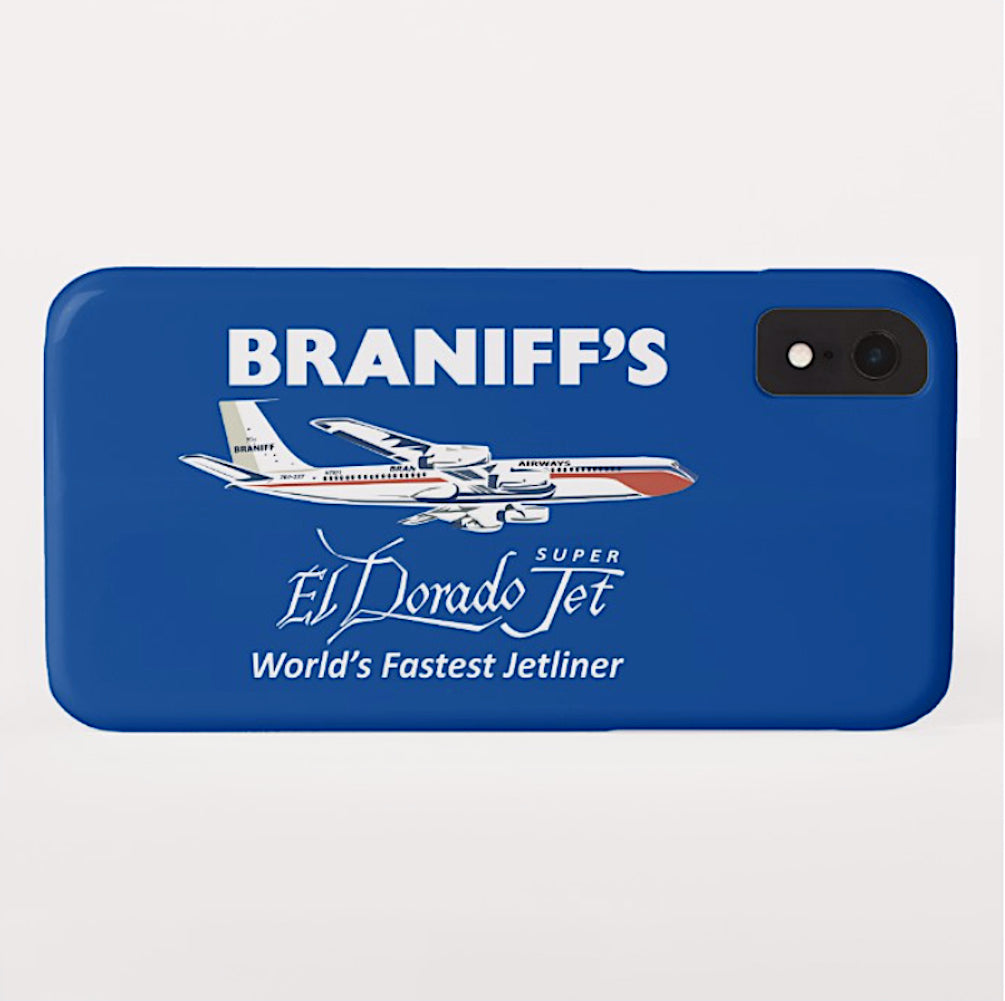 Phone Case iPhone and Galaxy Barely There Braniff El Dorado Super Jet